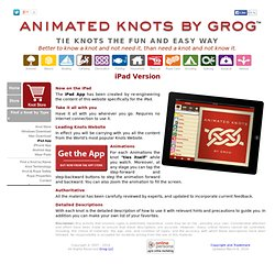 Animated Knots App | Animated Knots on your iPad | Knots on Your iPad