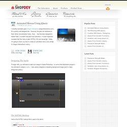 Animated Menus Using jQuery » ShopDev Website Design Blog