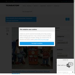 The world's first animated Tensator Virtual Assistant