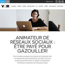 Animateur de réseaux sociaux: Être payé pour gazouiller!