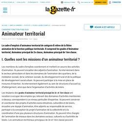 Animateur territorial