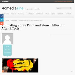 Animating Spray Paint and Stencil Effect in After Effects