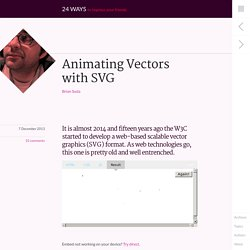 Animating Vectors with SVG