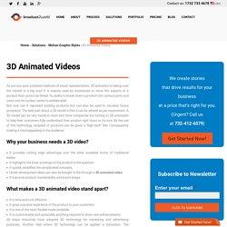 Create 3D Video Demo - Broadcast2world