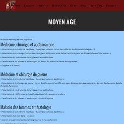 Animation histoire de la médecine et de la chirurgie médiévale
