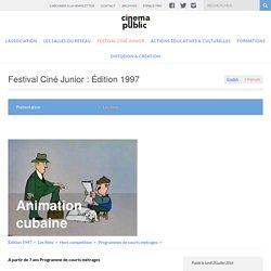 Animation cubaine - Cinéma Public