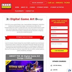 Game Art Designing Institute in Kolkata