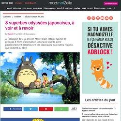 Animation japonaise : les plus beaux films pour s'émerveiller !