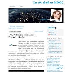 MOOC et vidéos d'animation: l'exemple d'Explee