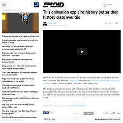 This animation explains history better than history class ever did