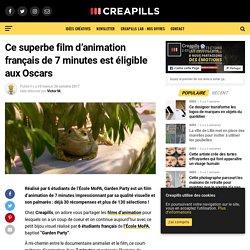 Ce superbe film d'animation français de 7 minutes est éligible aux Oscars