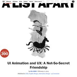 UI Animation and UX: A Not-So-Secret Friendship