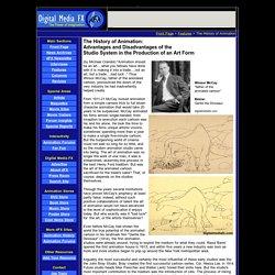 Animation History, Winsor McCay, Max Fleischer