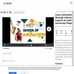 Learn Animation through Industry Experts At AAFT University Raipur