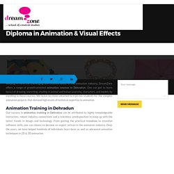 Important information for Students of Dehradun regarding Animation Training