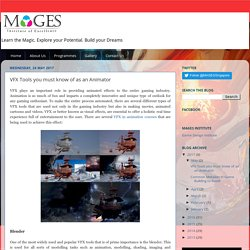 Mages Singapore: VFX Tools you must know of as an Animator