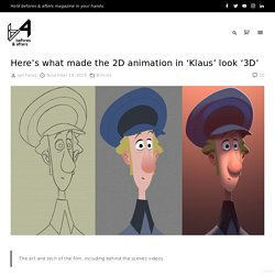 Here's what made the 2D animation in 'Klaus' look '3D' - befores & afters