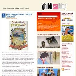 "Ghibli Blog - Studio Ghibli, Animation and the Arts: Hayao Miyazaki Comics: ""A Trip to Tynemouth"""