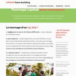 Tournage de Lipdub, une animation originale team building pour votre séminaire ou journée d'entreprise
