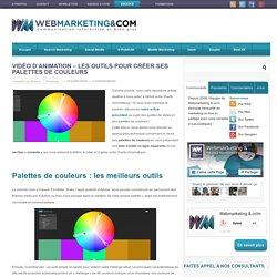Vidéo d'animation - les outils pour créer ses palettes de couleurs