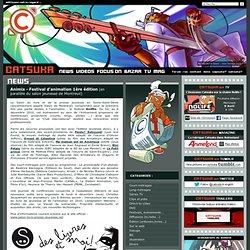 Animix - Festival d'animation 1ère édition (en parallèle du salon jeunesse de Montreuil)