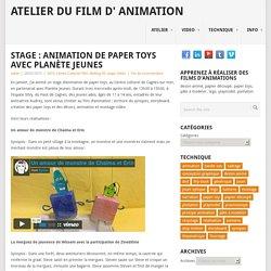 Stage : animation de paper toys avec Planète Jeunes