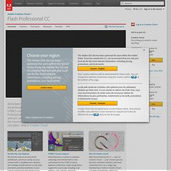 Animation software, animation movies | Adobe Flash Professional CS6