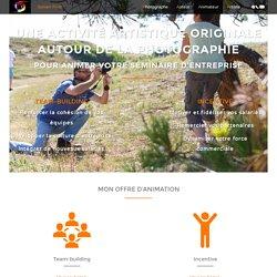 Animation de séminaire, team-building, incentive autour de la photo