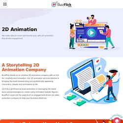 2D Animation Service Provider: 2D Animation Company In USA