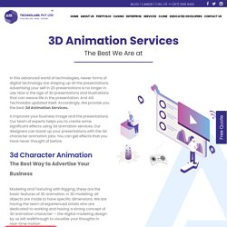 3d Animation Services - 3d Animation Company India