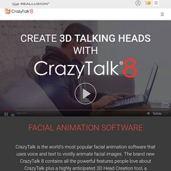 CrazyTalk - Facial and 2D Animation Software