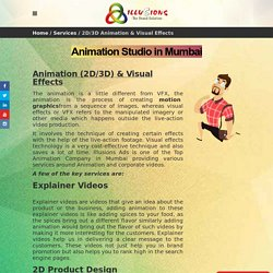 2D and 3D Animation Studio in Mumbai – VFX Studios in Mumbai