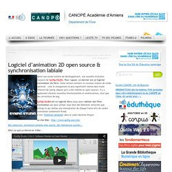 Logiciel d'animation 2D open source & synchronisation labiale