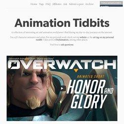 Animation Tidbits