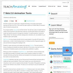 7 Web 2.0 Animation Tools