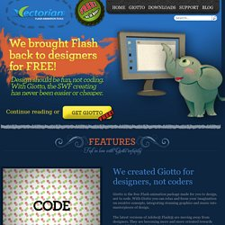 Giotto Free Flash Animation Tool – Vectorian Inc.