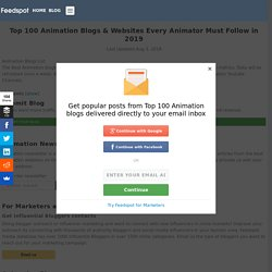 Top 100 Animation Blogs and Websites Every Animator Must Follow