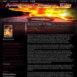 Qu'est ce que le Raku ? - Animations Raku Céramique Céramobile