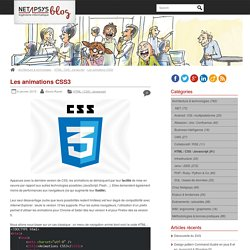 Les animations CSS3