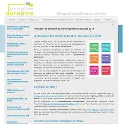 Les Ateliers Durables - Animations développement durable et activités bien-être en entreprise