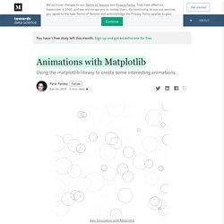 Animations with Matplotlib