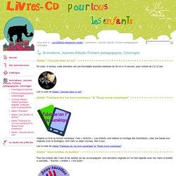 Animations, Journée d'étude, Fichiers pédagogiques, Coloriages