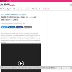 Créez des animations pour les réseaux sociaux avec Crello