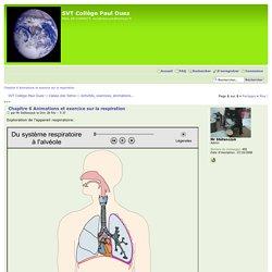 Chapitre 6 Animations et exercice sur la respiration