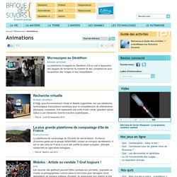 Banque des savoirs - Animations