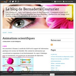 Animations scientifiques - Le blog de Bernadette Couturier
