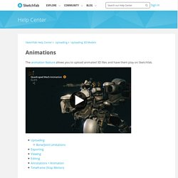 **GOOD SERVICE**Animations – Sketchfab Help Center