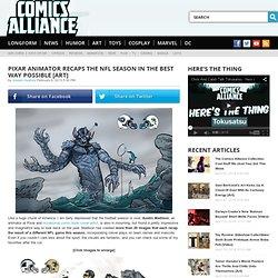 Pixar Animator Recaps The NFL Season In The Best Way Possible [Art