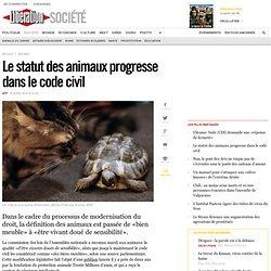 Le statut des animaux progresse dans le code civil