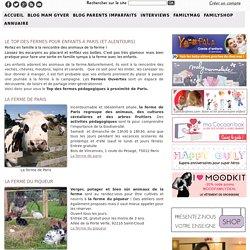 Les animaux de la ferme à Paris, en région parisienne et en île de France